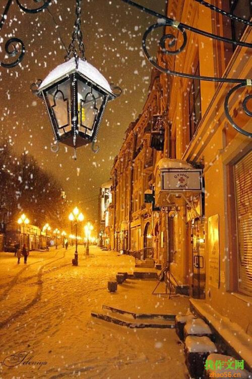 关于下雪的作文_450字